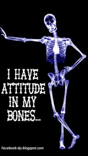 attitudes in my bones whatsapp dp and profile pic