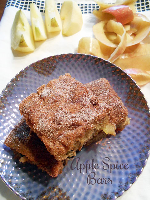 Cookies from the Book: Apple-Spice Bars