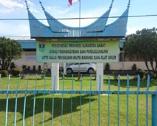Kantor UPTD BPMP di Jalan Belibis No 3 Air Tawar Padang.