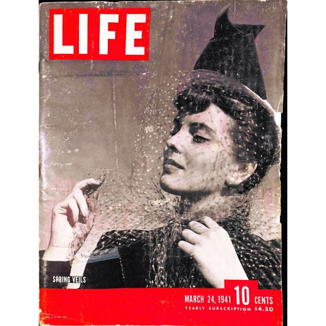 24 March 1941 worldwartwo.filminspector.com Life Magazine Spring Veils