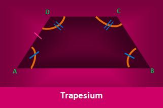 Luas dan Keliling Trapesium Jarak Titik Tengah Diagonal dan JenisJenisnya