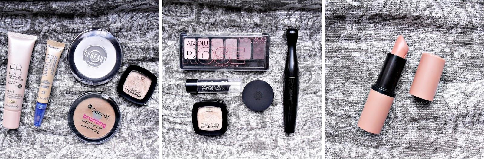 MAKE UP | kosmetyczne zestawienie TYGODNIOWE | czyli o tym co na mojej twarzy gości ;)
