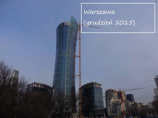 Fotogaleria z zimowej Warszawy