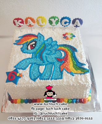 Kue Tart My LIttle Pony Buttercream