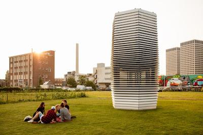 Torre purificadora