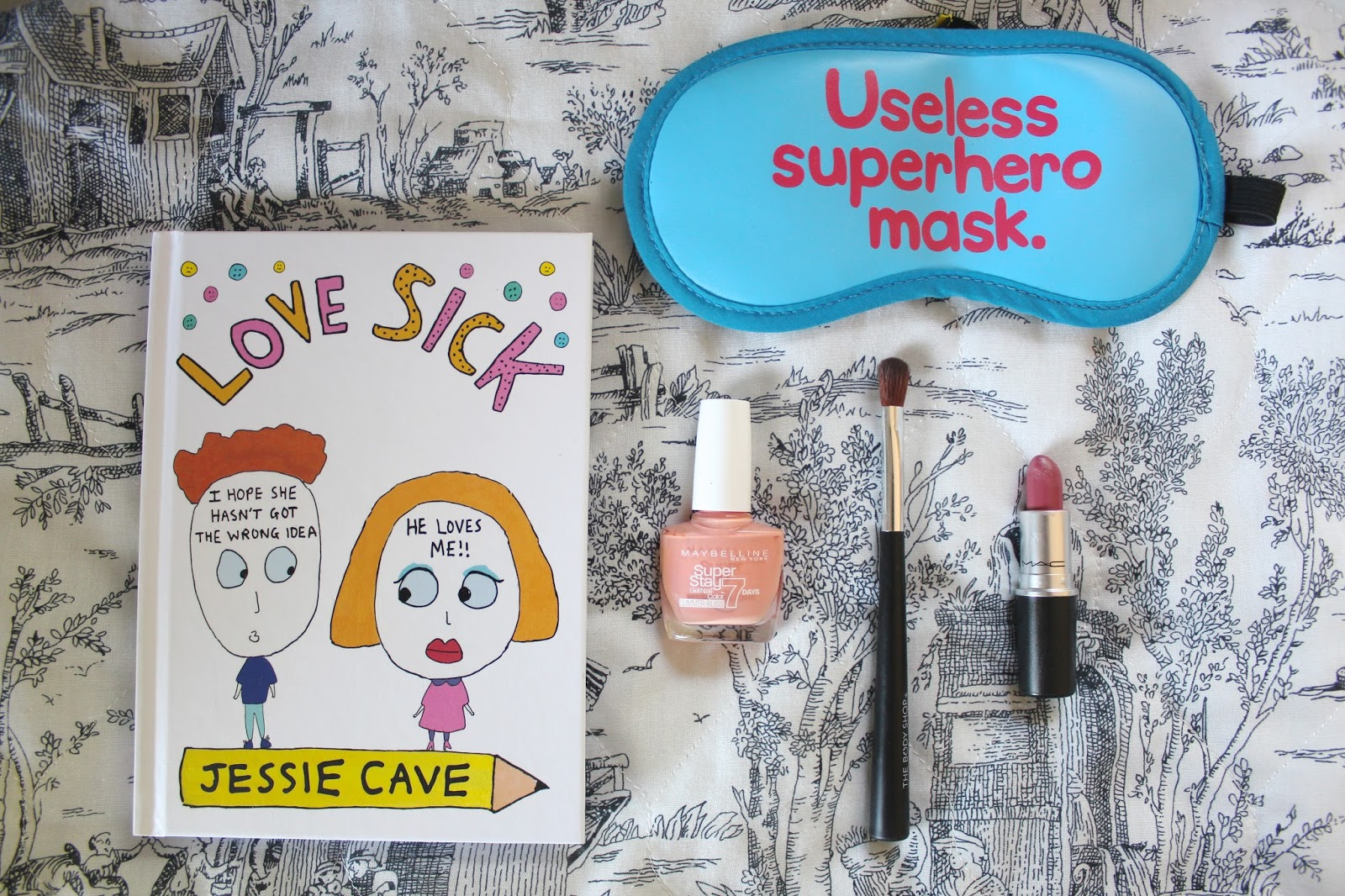 blog blogger lifestyle love sick jessie cave sleeping maybelline super stay nail polish gel body shop eyeshadow brush mac matte lipstick mehr favourites recommends