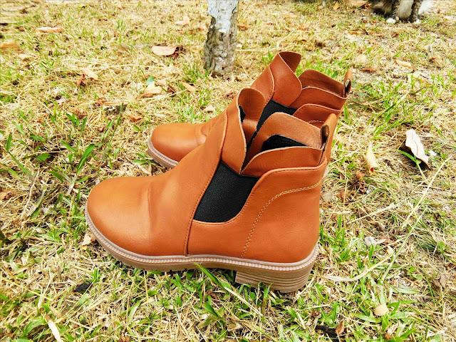 Cantiknya Bergaya Dengan Stretch Boots Dari Happy2u.my