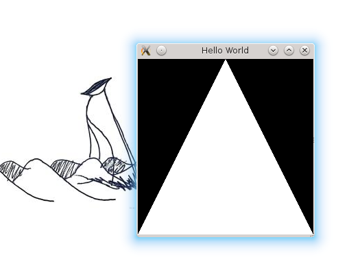 CodeCereal: OpenGL Lesson 02 - Drawing with OpenGL