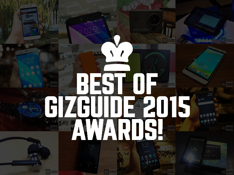 Best Of GIZGUIDE 2015 Awards! List Of The Top Portable Gadgets We Able To Hold This Year!