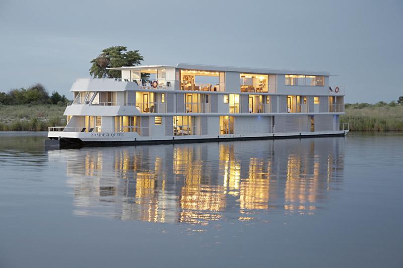 Travel Southern Africa │luxury River Boat │safari Cruise