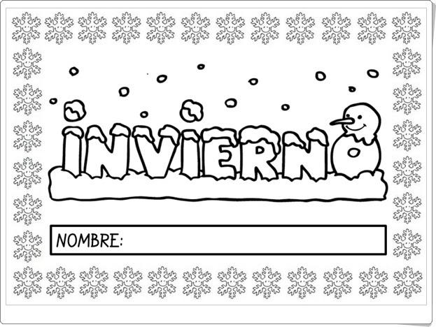 """""""El libro del Invierno"""" (Cuaderno de Educación Infantil)"""