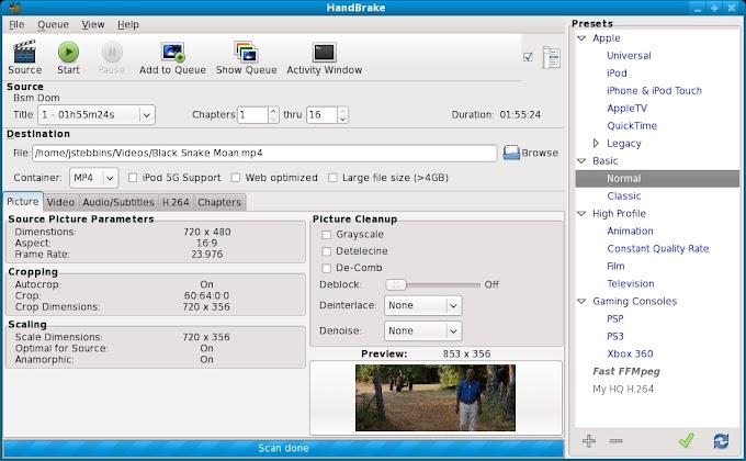 HandBrake 1.0.0 - Δωρεάν πρόγραμμα μετατροπής αρχείων βίντεο