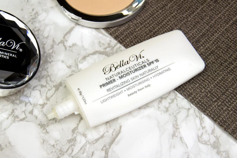 bella vi cosmetics naturalceuticals primer moisturiser spf 15 review