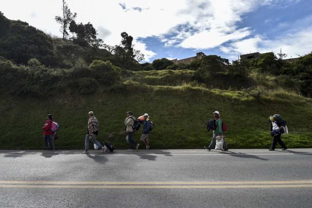 El páramo de la muerte, camino de huida del éxodo venezolano