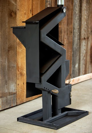 Heated Up Gravity Fed Pellet Stove Wins Vesta Award