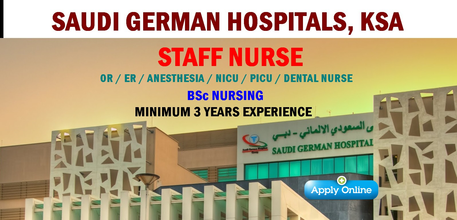 nurses job vacancy