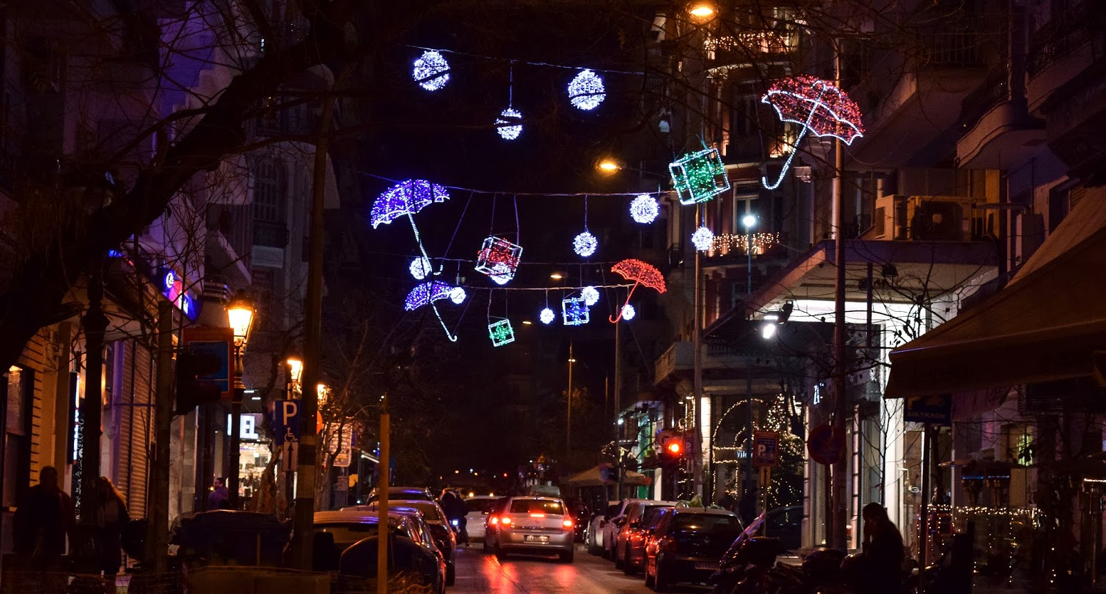 Street decorations - Thessaloniki