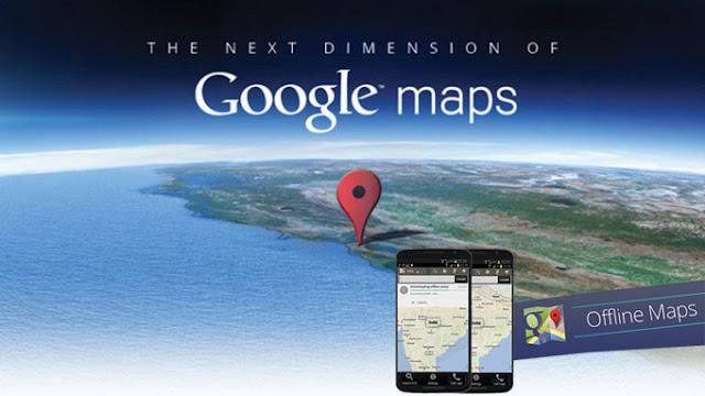 Cara menggunakan Google Maps tanpa koneksi internet (Offline)