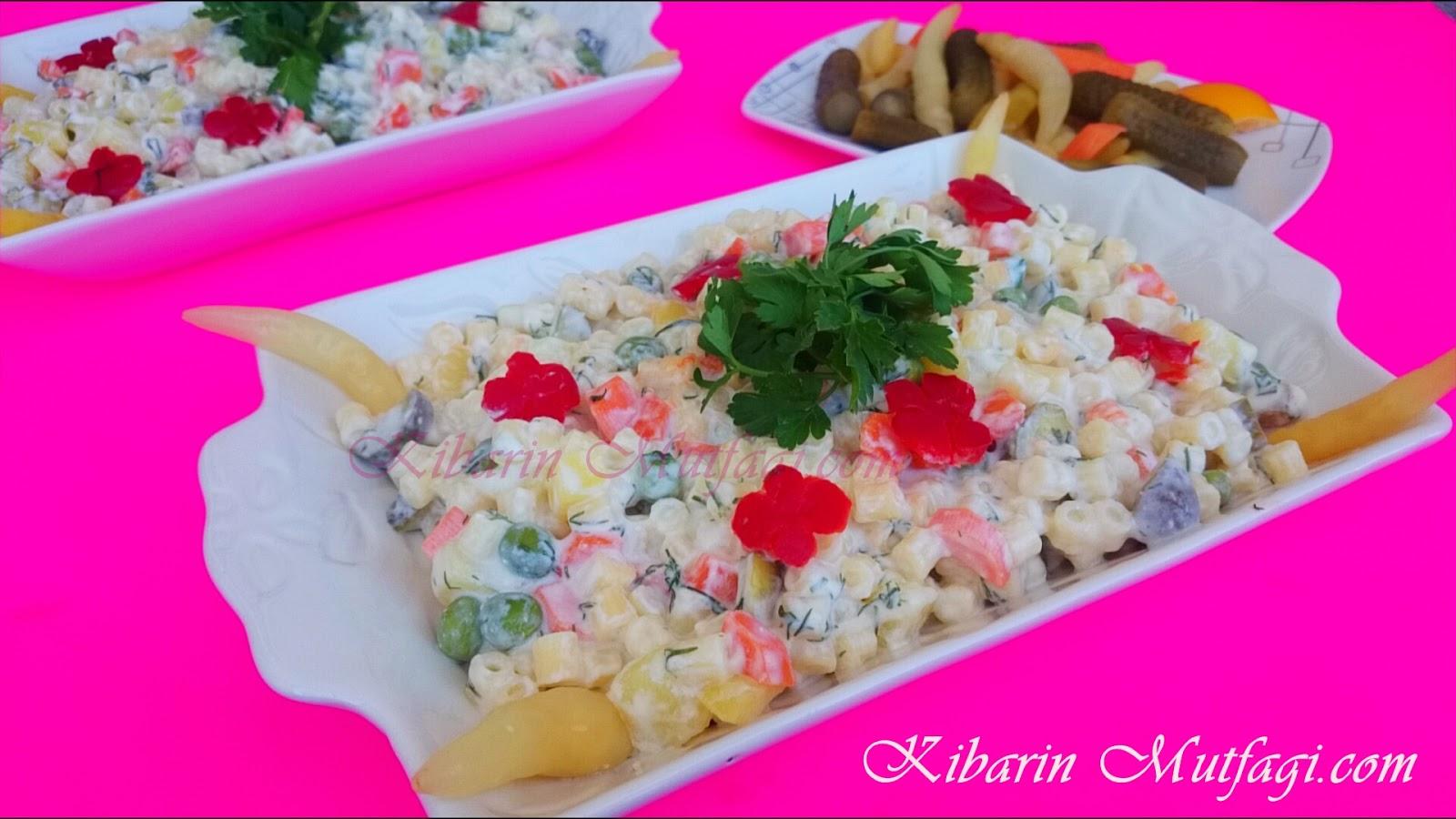 Yoğurtlu Nefis Kuskus Salatası Tarifi Videosu