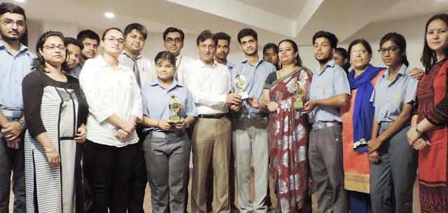 Yash Chauhan of Surajkund International School selected in IIT, getting meet Bhedaiya