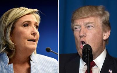 Σοκαρισμένη η Λεπέν με την απόφαση του Τραμπ (Δεν απόφαση του Τραμπ ξυπνήστε!! )