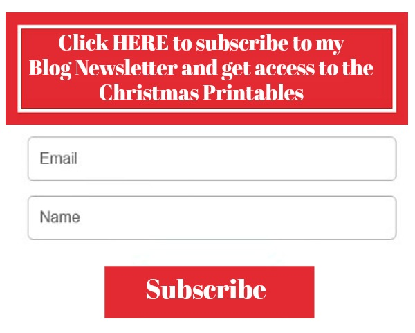 Subscribe to my blog newsletter to get access to the FREE printables from Walking on Sunshine Recipes.