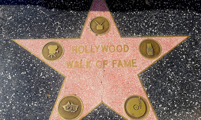 los angeles hollywood boulvard walk of fame
