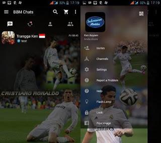 Download BBM Mod Cristiano Ronaldo