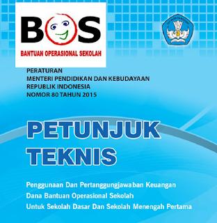 Juknis BOS 2016 Permendikbud No 80 Tahun 2015 Jenjang Dikdas Kemdikbud SD Dan SMP