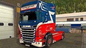 Scania RJL Bjarne Nielsen skin