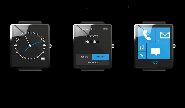Windows 10 Surface Smartwatch Concept
