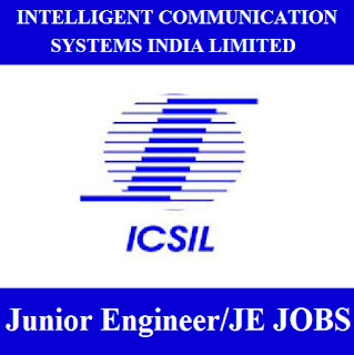 Intelligent Communication Systems India Limited, ICSIL, Delhi, JE, Junior Engineer, Graduation, Diploma, freejobalert, Sarkari Naukri, Latest Jobs, icsil logo