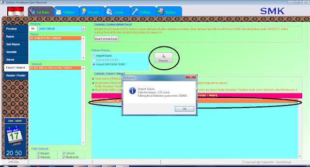 Cara Import File DZ ke BIOUN Offline Terbaru