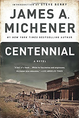 Centennial, part of reading roundup- favorite books from June