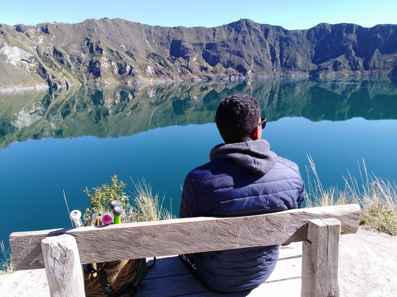 Circuito Quilotoa : Laguna de quilotoa