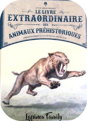 le livre extraordinaire des animaux prehistoriques