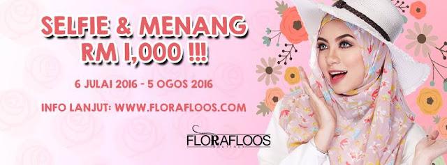 Menang RM1000 dari FloraFloos !