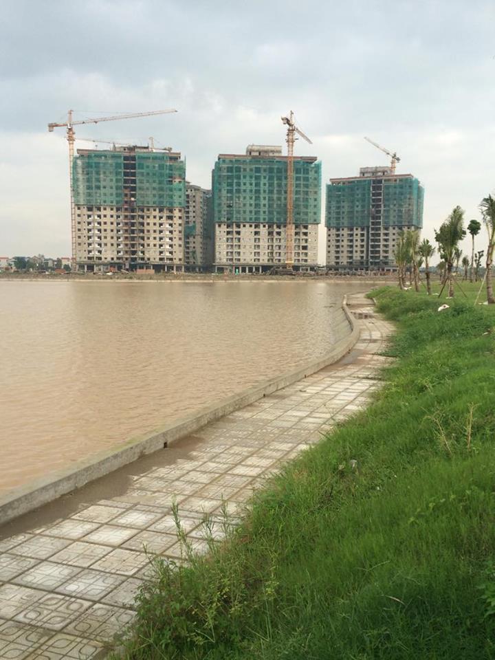 Chung cư HH02 Thanh Hà view hồ điều hòa