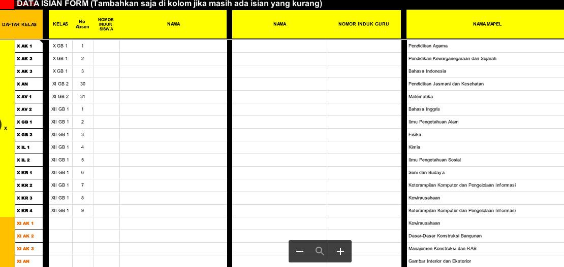 Download File Perangkat Administrasi Guru Kelas Sd K 13 Revisi Baru Lengkap Pendidikan Indonesia