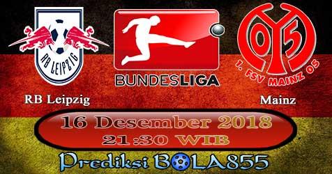 Prediksi Bola855 RB Leipzig vs Mainz 16 Desember 2018