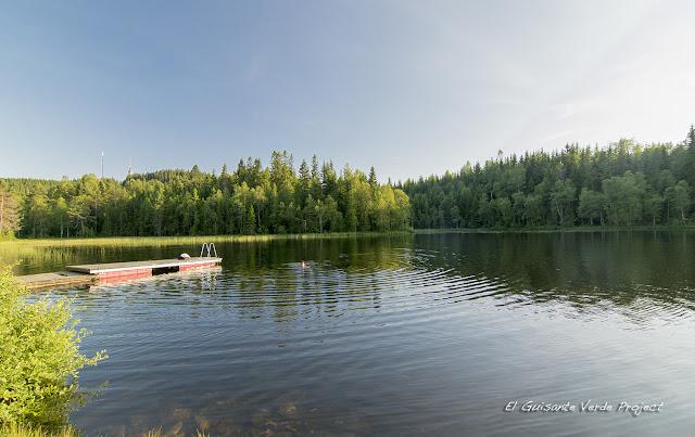 Pantalán de Lille Tryvann, Nordmarka - Oslo por El Guisante Verde Project