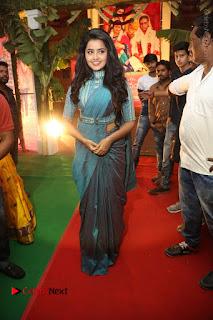Actress Anupama Parameswaran Stills in Stylish Saree at Shatamanam Bhavathi Audio Launch  0076.JPG