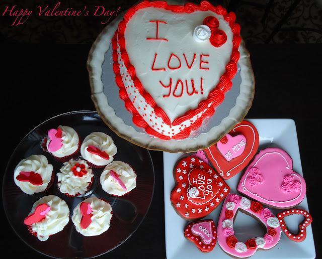 Valentine's Day {Baking Anniversary}
