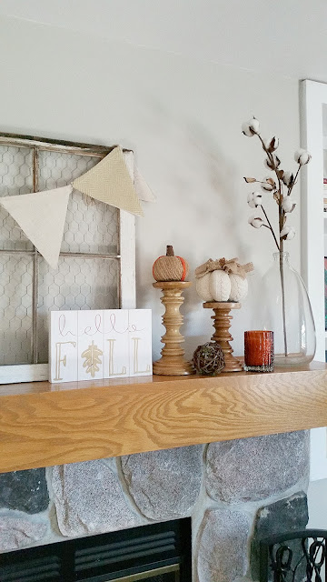 Fall autumn rustic home decor ideas