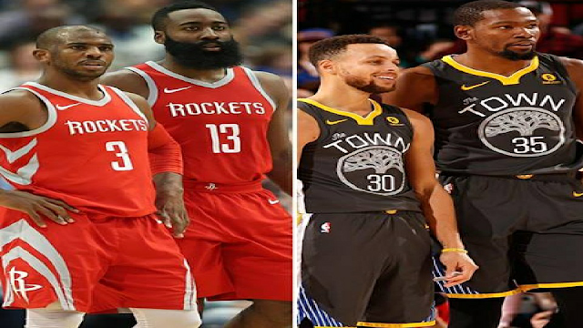 Golden State Warriors vs Houston Rockets Full Game Highlights 2017-18 NBA Season