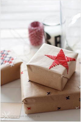 embroidery gift wrap
