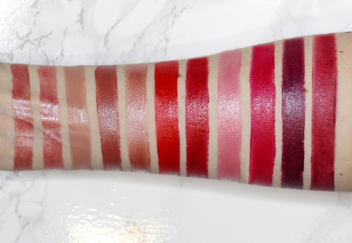 Manhattan Moisture Renew Lipstick swatches