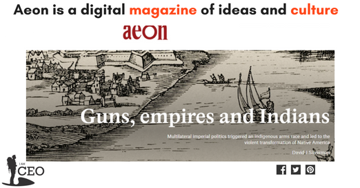 Aeon is a digital magazine of ideas and culture iamceo.in