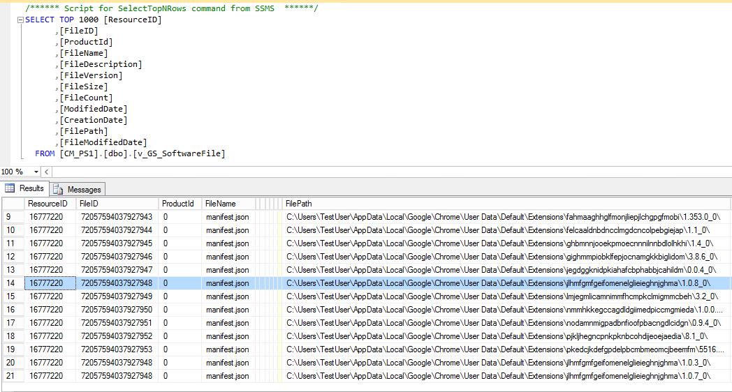 PushDeploy: SCCM Inventory - Google Chrome Cisco WebEx Plugin