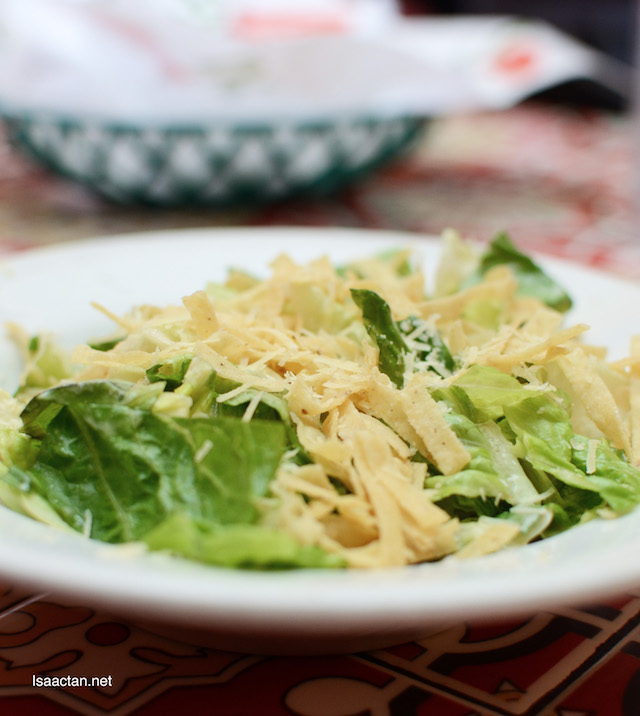 Salad can be nice too!